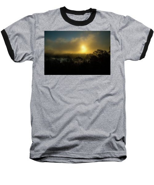 Baseball T-Shirt featuring the photograph Morning Arrives by Karol Livote
