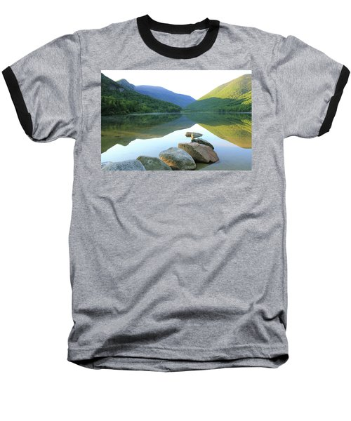 Morning At Echo Lake Baseball T-Shirt