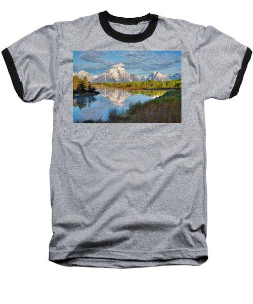Morning At Oxbow Bend Baseball T-Shirt