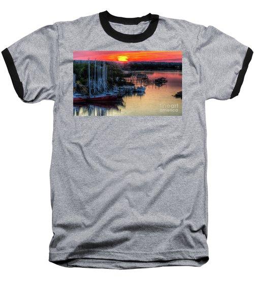 Morning Bliss Baseball T-Shirt by Maddalena McDonald