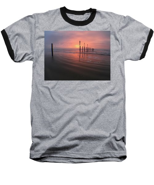 Morning Bliss Baseball T-Shirt by Sharon Jones