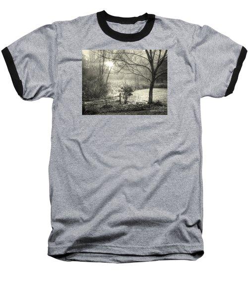 Morning Breaking Baseball T-Shirt by Betsy Zimmerli