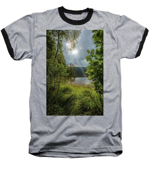 Morning Breath Baseball T-Shirt by Rose-Marie Karlsen