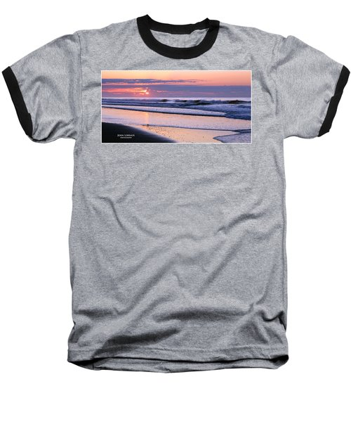 Morning Calm Baseball T-Shirt by John Loreaux