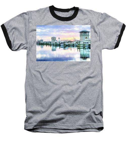 Morning Calm Baseball T-Shirt by Maddalena McDonald