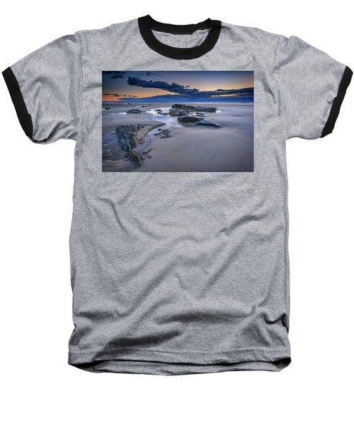 Baseball T-Shirt featuring the photograph Morning Calm On Wells Beach by Rick Berk