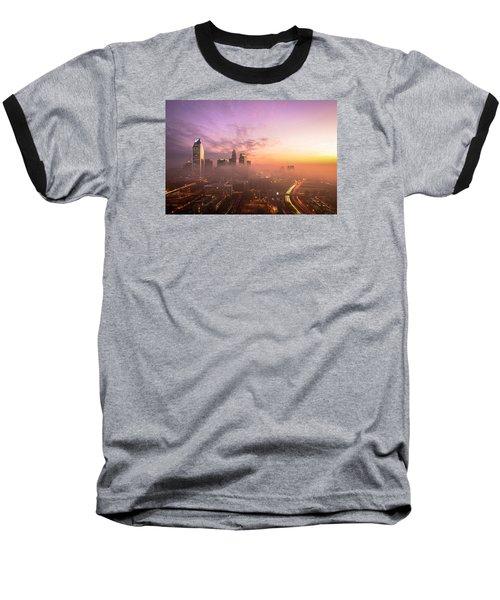 Morning Charlotte Rush Hour Baseball T-Shirt