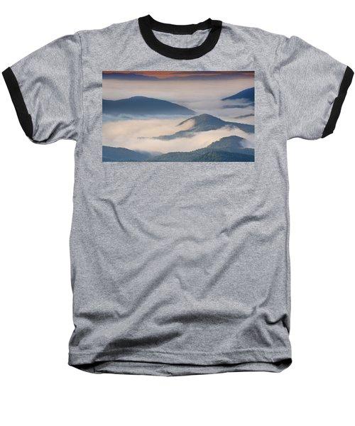 Morning Cloud Colors Baseball T-Shirt