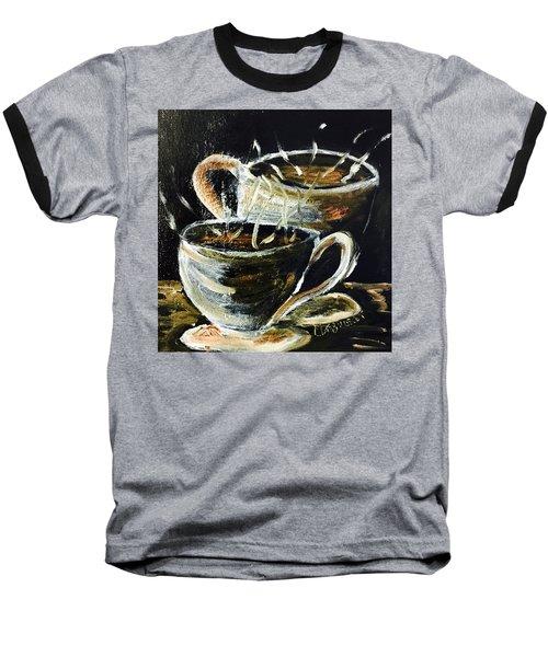 Morning Coffee  Baseball T-Shirt