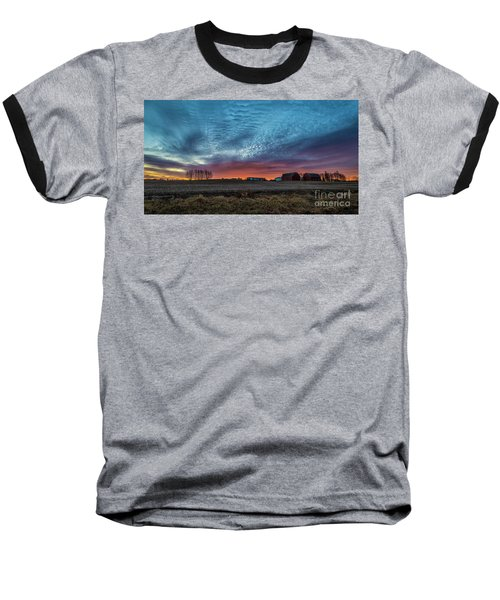 Morning Color Baseball T-Shirt