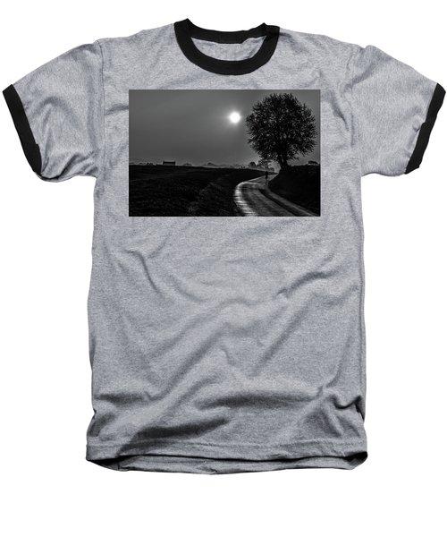Morning Dew Bw Baseball T-Shirt