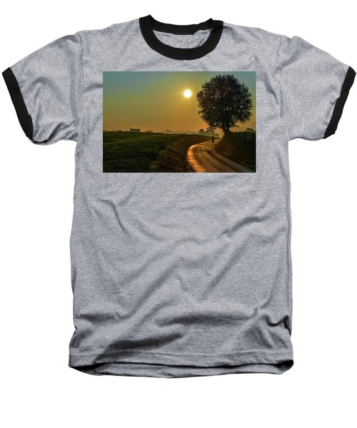 Morning Dew In Color Baseball T-Shirt