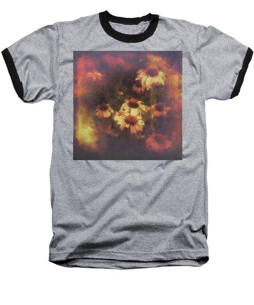 Morning Fire - Fierce Flower Beauty Baseball T-Shirt