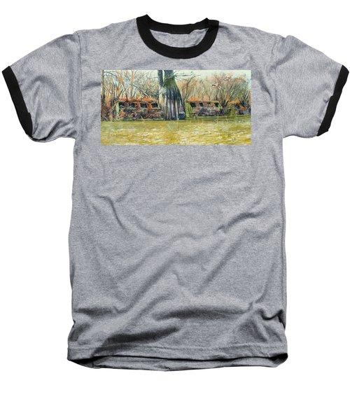 Morning Flight At Little Basin Baseball T-Shirt