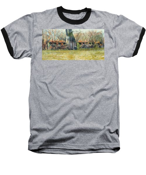 Morning Flight At Little Basin Baseball T-Shirt