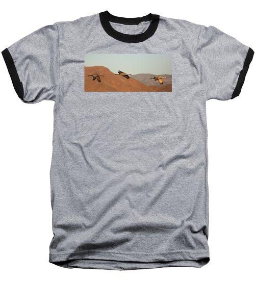 Morning Flight Baseball T-Shirt