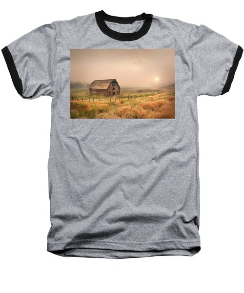 Baseball T-Shirt featuring the photograph Morning Flight by John Poon