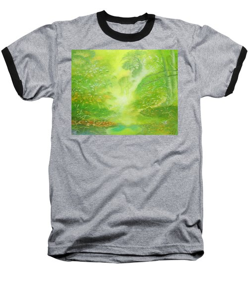 Morning Flora Baseball T-Shirt