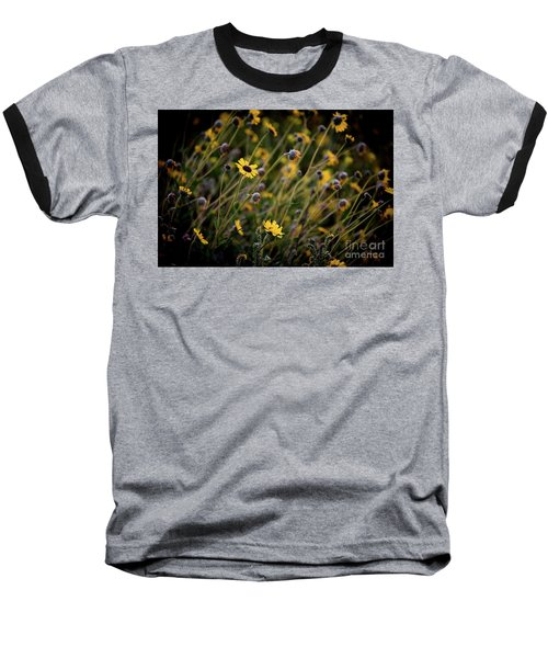 Baseball T-Shirt featuring the photograph Morning Flowers by Kelly Wade