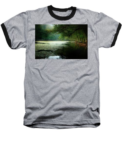 Morning Fog Baseball T-Shirt