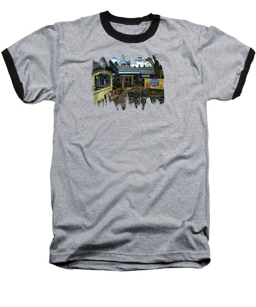 Baseball T-Shirt featuring the photograph Morning Glory Cafe Ashland by Thom Zehrfeld