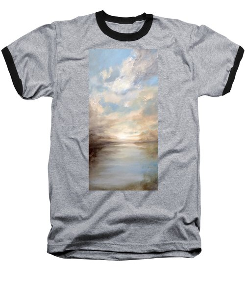 Morning Glory Baseball T-Shirt by Dina Dargo