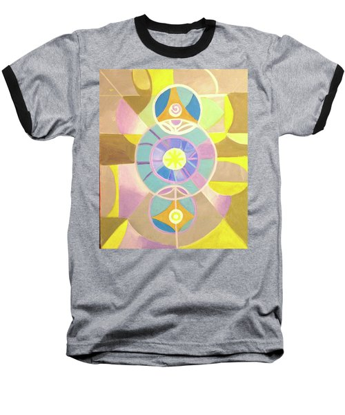 Morning Glory Geometrica Baseball T-Shirt