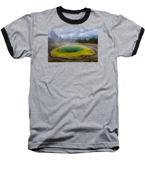Morning Glory Pool Baseball T-Shirt