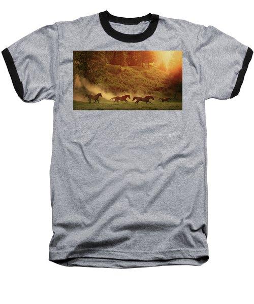 Morning Glory Baseball T-Shirt