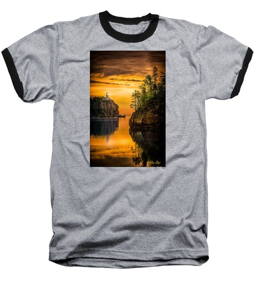 Morning Glow Against The Light Baseball T-Shirt by Rikk Flohr