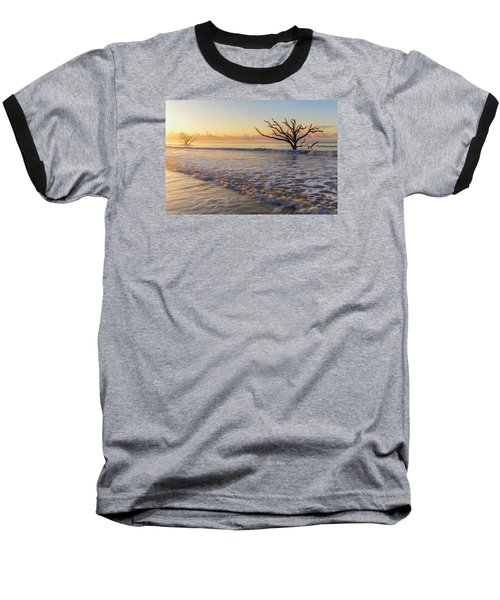 Morning Glow At Botany Bay Beach Baseball T-Shirt