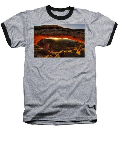 Morning Glow At Mesa Arch Baseball T-Shirt