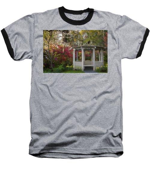 Morning Glow At The Plantations Baseball T-Shirt