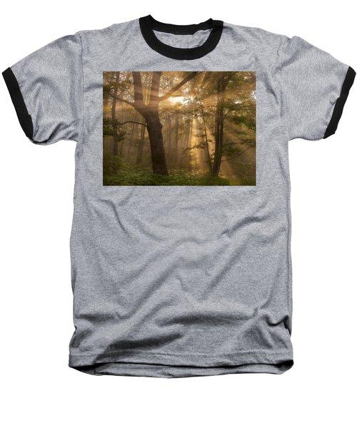 Morning God Rays Baseball T-Shirt