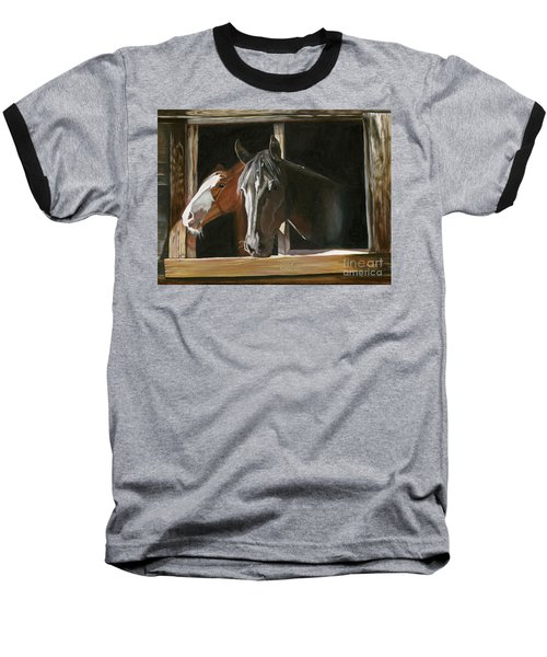 Morning Greeting Baseball T-Shirt