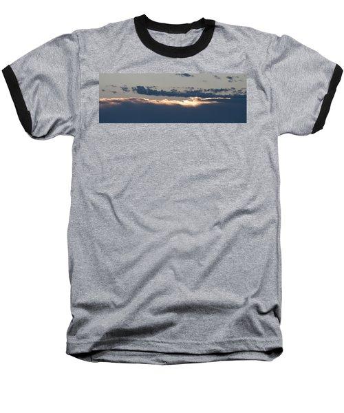 Baseball T-Shirt featuring the photograph Morning Has Broken by Allen Carroll