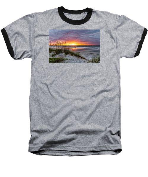Morning Has Broken Baseball T-Shirt by Paul Mashburn