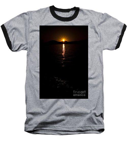 Baseball T-Shirt featuring the photograph Morning Has Broken by Tamyra Ayles