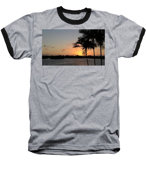 Baseball T-Shirt featuring the photograph Morning Has Broken Two by Pamela Blizzard