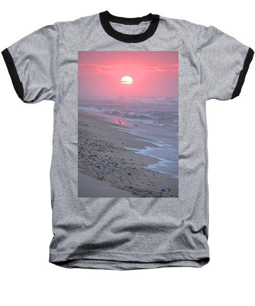 Baseball T-Shirt featuring the photograph Morning Haze by  Newwwman