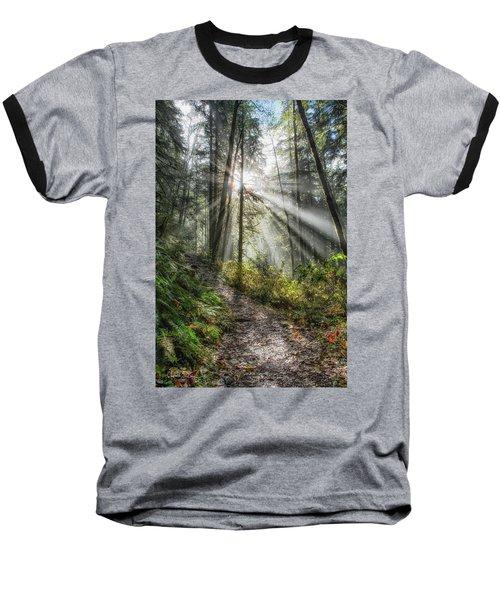 Morning Hike Baseball T-Shirt