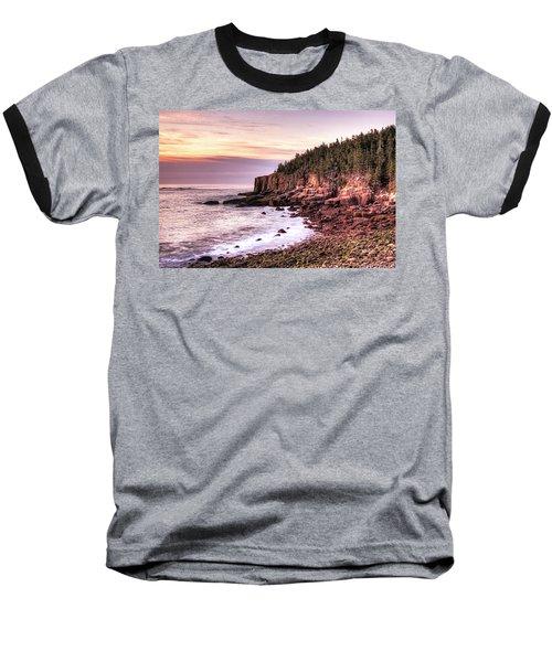 Morning In Acadia Baseball T-Shirt