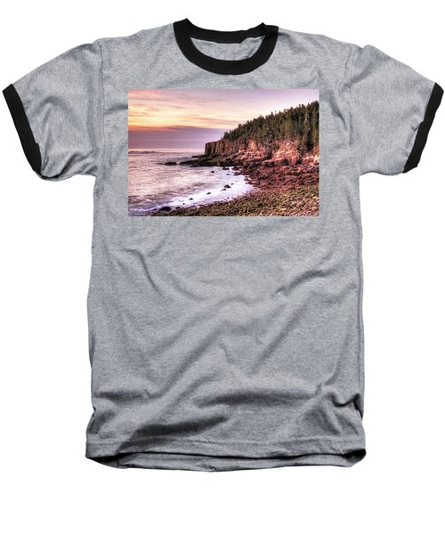 Morning In Acadia Baseball T-Shirt