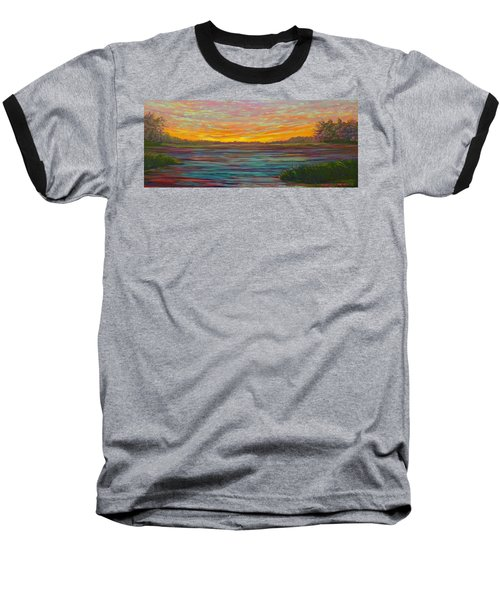 Southern Sunrise Baseball T-Shirt by Jeanette Jarmon