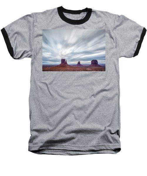 Morning In Monument Valley Baseball T-Shirt