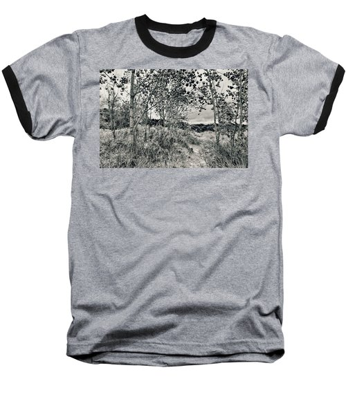 Baseball T-Shirt featuring the photograph Morning In The Dunes by Michelle Calkins
