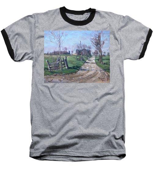 Morning In The Farm Georgetown Baseball T-Shirt