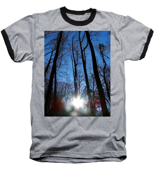 Morning In The Mountains Baseball T-Shirt by Robert Meanor
