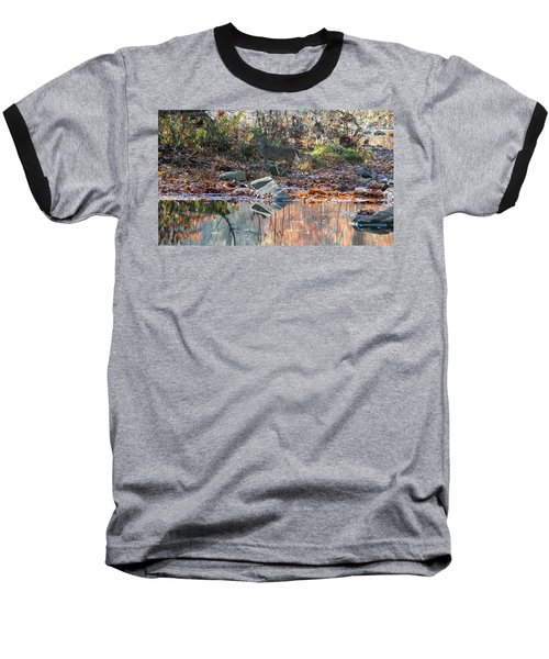 Morning In The Woods Baseball T-Shirt