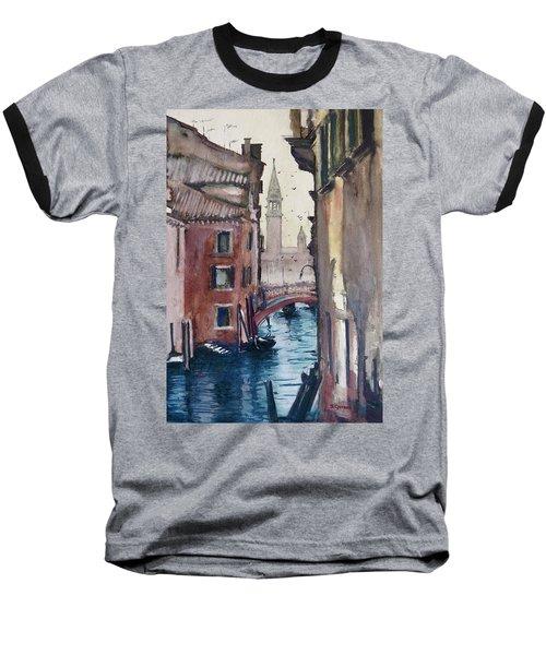 Morning In Venice Baseball T-Shirt